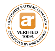 100% Avid Ratings Verified